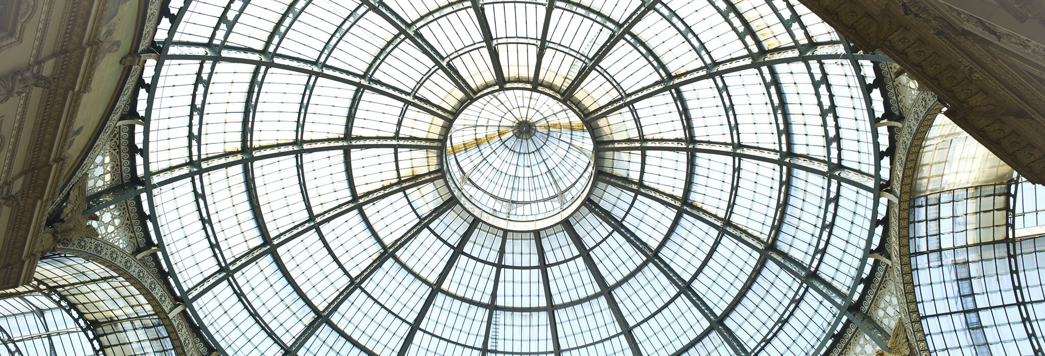 Image of a glass dome